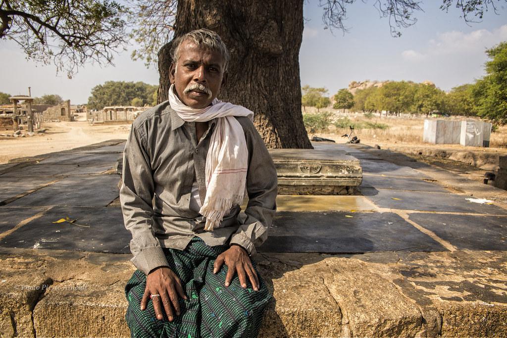 HAMPI : PORTRAIT DHOMME