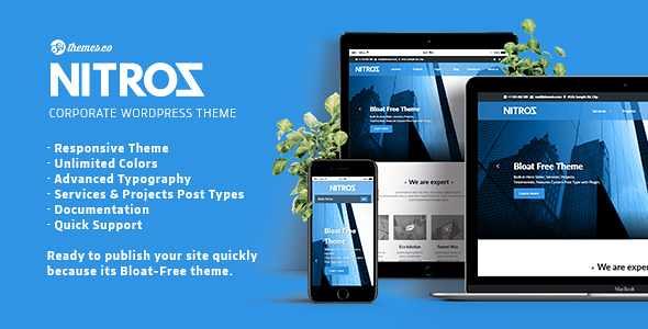 Nitroz WordPress Theme free download
