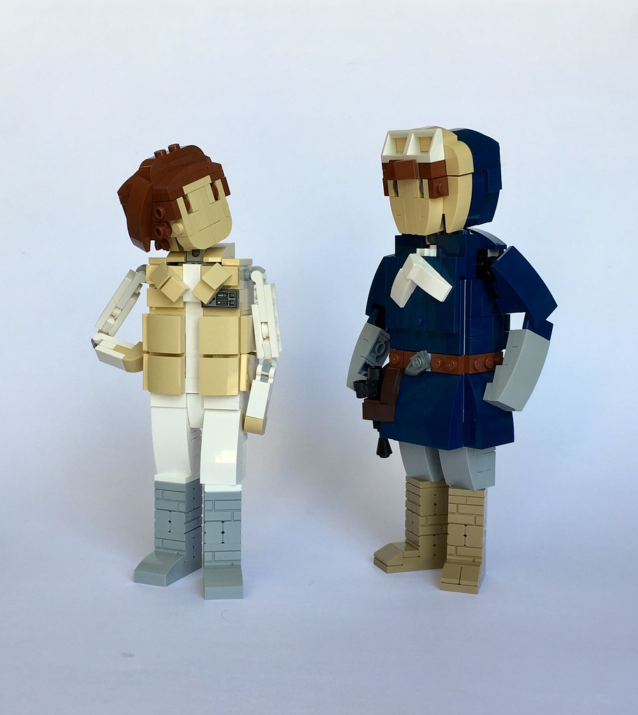 Echo Base Conversation (custom built Lego model)