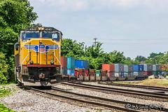UP 4242 | EMD SD70M | NS Memphis District