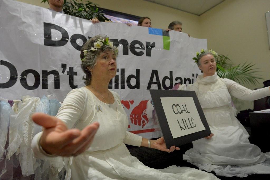 DownerEDI occupation to Stop Adani 13