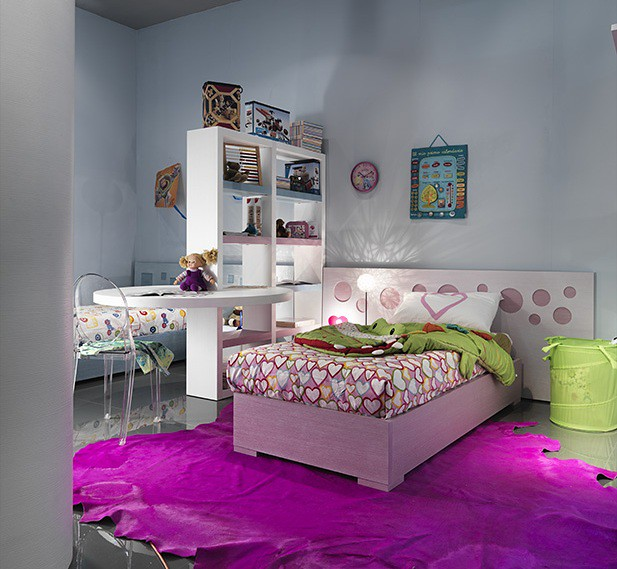 Mazzali Letti: PLAY UP, The Teenagers Room By MAZZALI