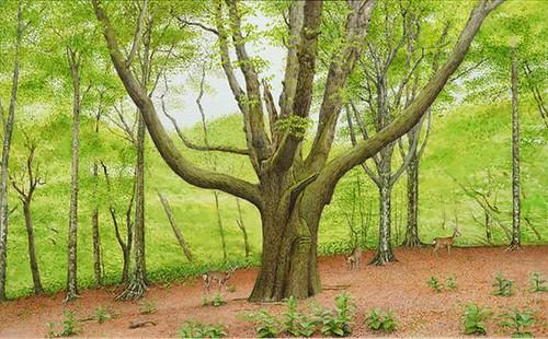 ■高森登志夫展−森の詩(うた)−■みどりの地球2013
