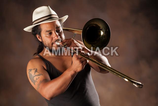 trombone player | Flic...