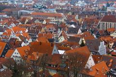 Pattern of Houses - Esslingen Neckar - Stuttgart - Germany