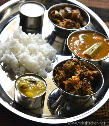 Indian lunch menu ideas raks kitchen south indian lunch forumfinder Images