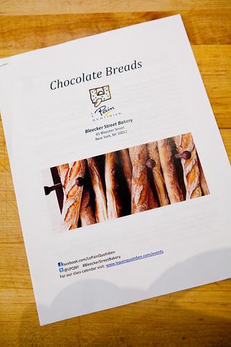 Chocolate breads class