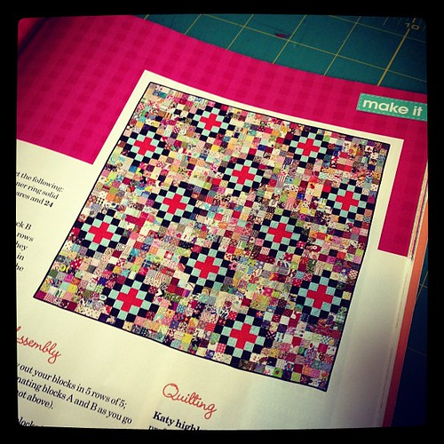 scrap vomit like this one from love quilting & patchwork!