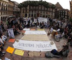 15M Málaga