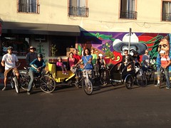 #fig4all historic bike tour for Streetsblog LA
