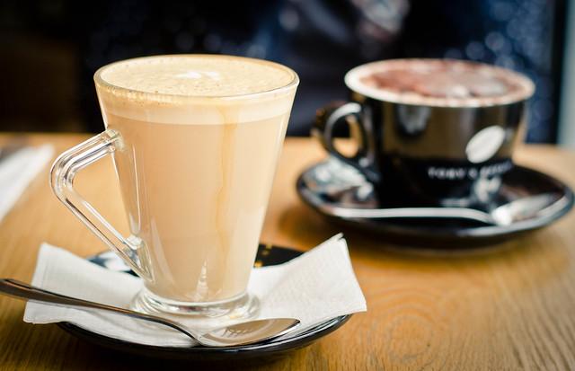 Vanilla Latte and Hot Chocolate