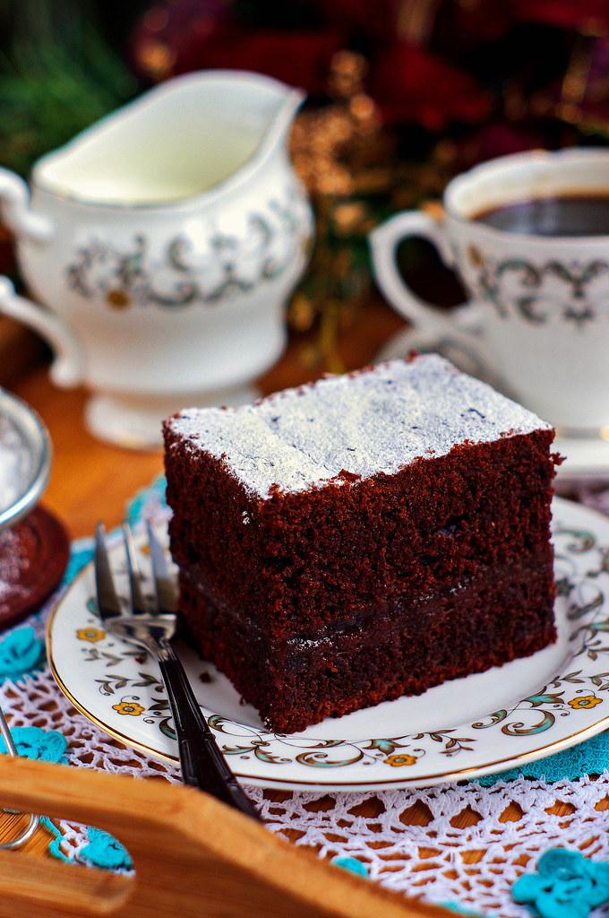 piernik na piwie (guinness gingerbread cake)