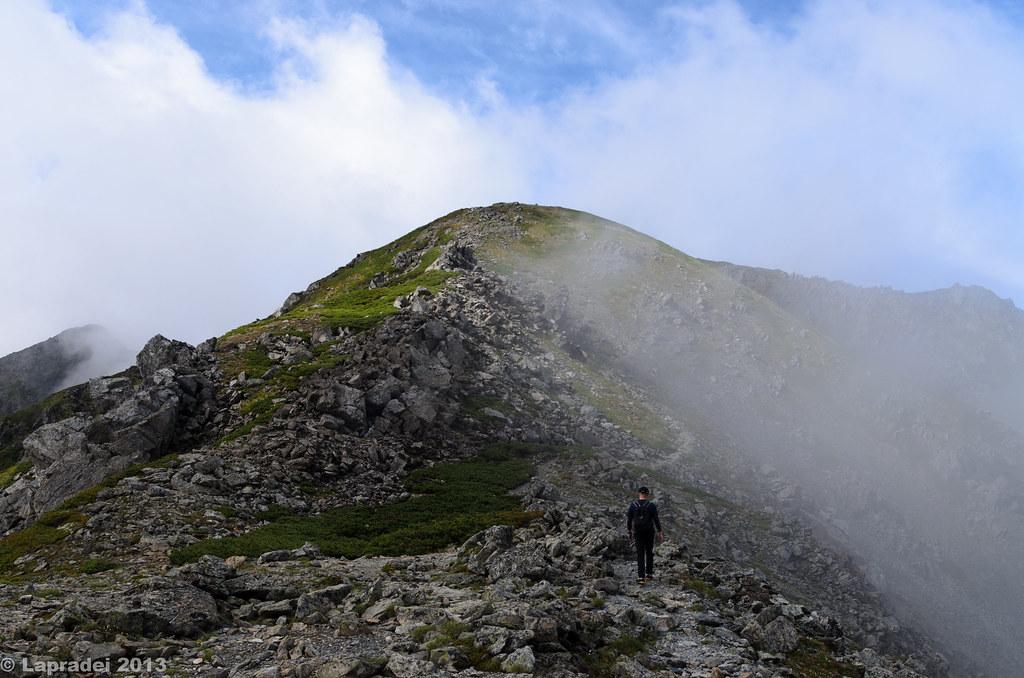 20130630 煙立つ稜線