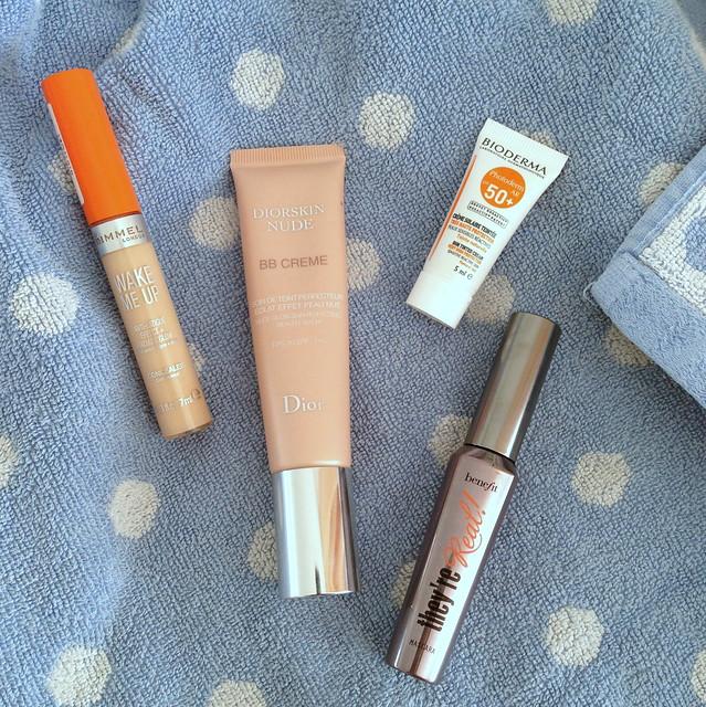 poolside makeup