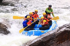 whitewater kayaking(0.0), canoeing(0.0), sports(1.0), rapid(1.0), river(1.0), recreation(1.0), outdoor recreation(1.0), watercraft rowing(1.0), boating(1.0), extreme sport(1.0), water sport(1.0), raft(1.0), rafting(1.0),