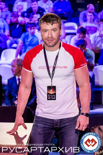 Nicholas Mishta - the owner of RUSARTARHIV (the main sponsor of A1 Russian Open 2013) and also the Vice President of Russian Armsport Association (RAA) │ A1 RUSSIAN OPEN 2013, Photo Source: armsport-rus.ru