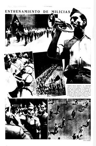 Las milicias del POUM, foto Agustí Centelles i Ossó. by Octavi Centelles