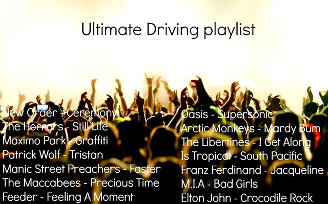 festival-crowd Ultimate driving playlist