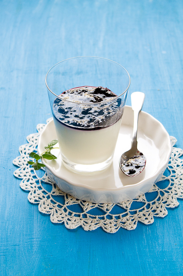 Greek Yogurt & Sweetened Condensed Milk Panna Cotta