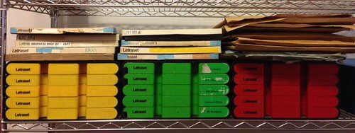 Tweeted by Dan Rhatigan (@ultrasparky) 'Letraset obsession, you say?'