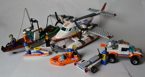 60015 Coast Guard Plane