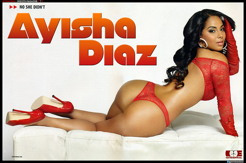 AYISHA DIAZ � SMOOTH MAGAZINE PHOTO SPREAD