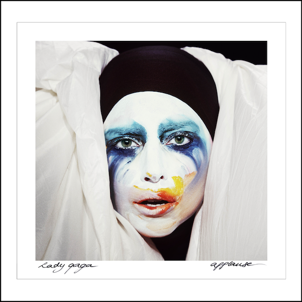 Lady Gaga Applause Cover Art