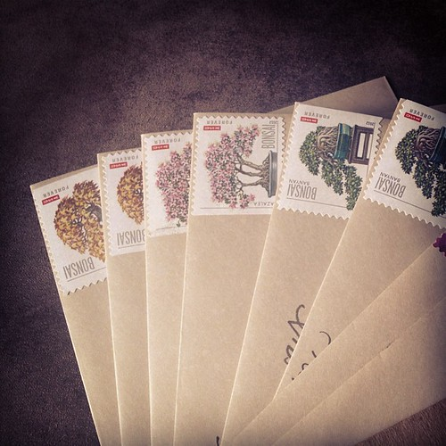 It's been a busy morning in letter-writing. Prepare your mailboxes, friends.