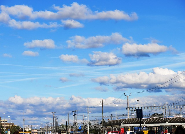 Clouds over Solothurn Station