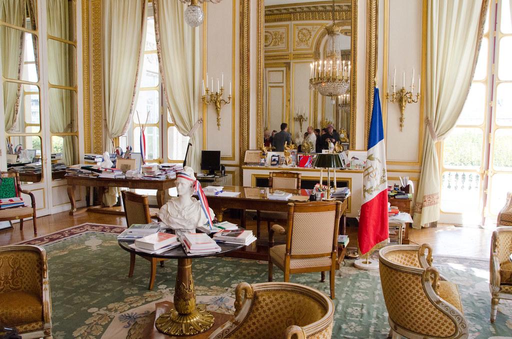 Le bureau du Président du Conseil constitutionnel, Jean-Louis Debré