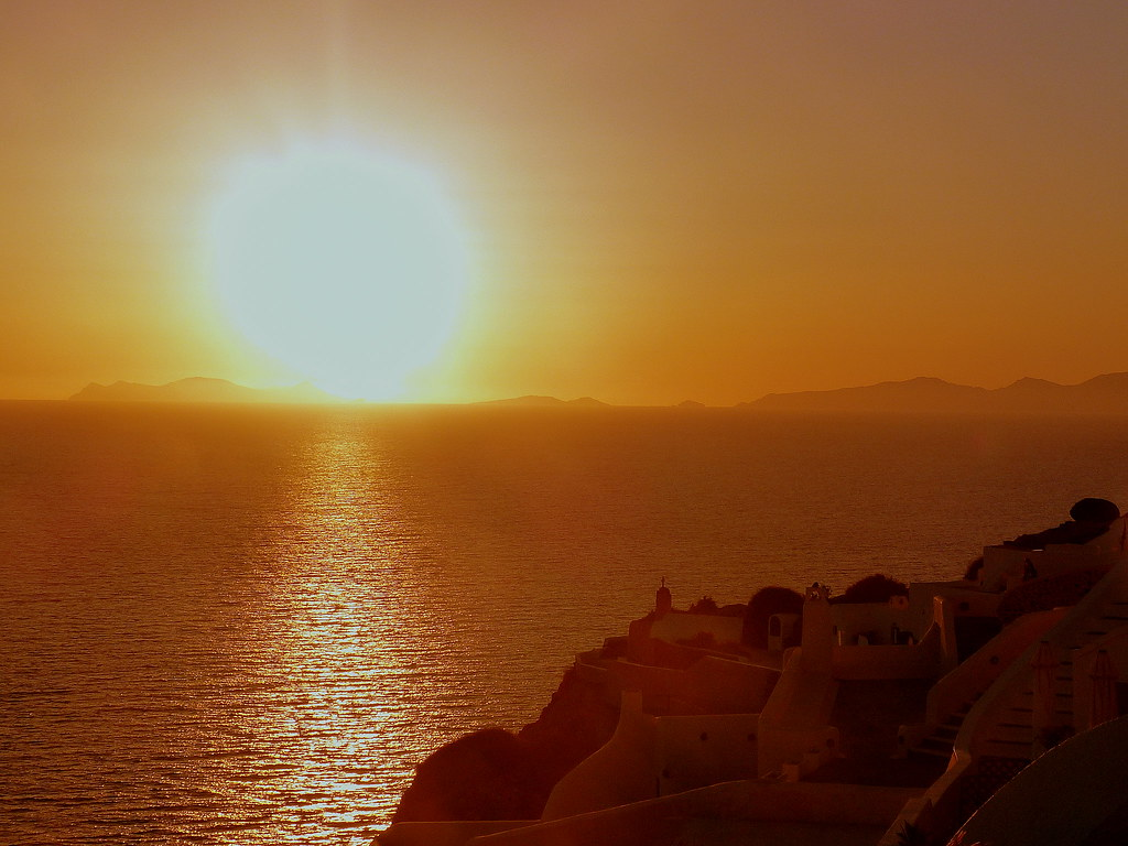 Santorini sunset 3