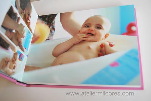 Albúm Fotográfico Digital Batismo Margarida