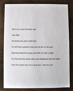 Poem on Adrian
