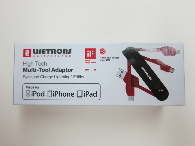 Lifetrons - High Tech Multi-Tool Adaptor (Lightning Edition) - Box Front