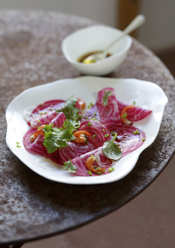 carpaccio légumes