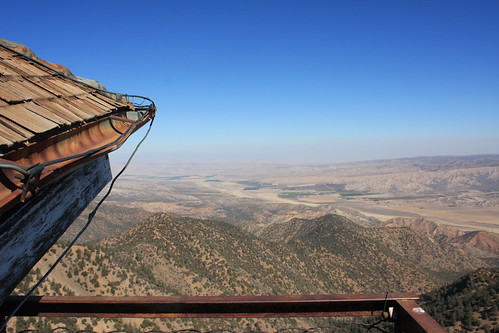 Cuyama Peak Lookout/AWS Cabin Remains No. 5