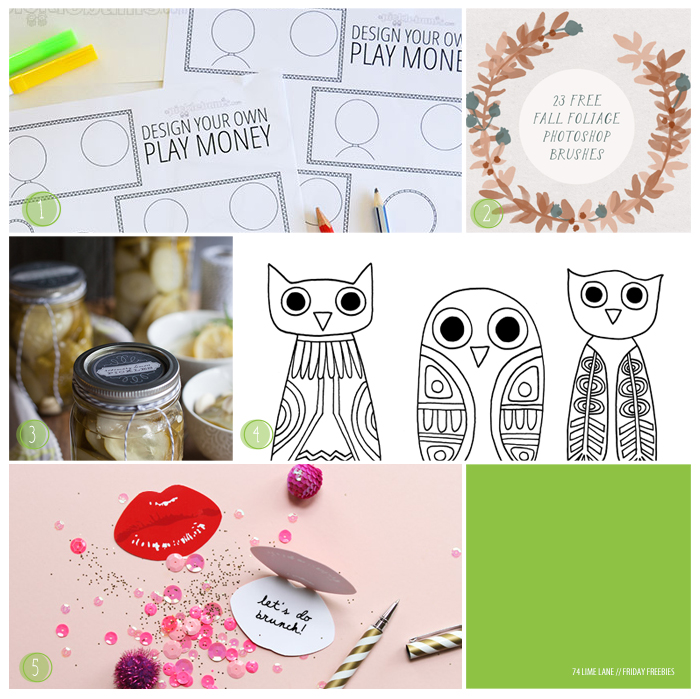 friday freebies // 40