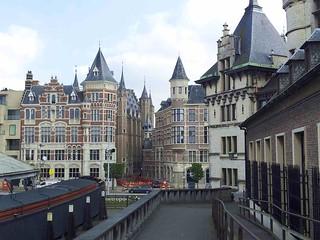 Image of Het Steen near Antwerpen. castle belgium antwerp mozillasummit mozsummit