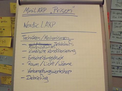 """Fortbildung """"Mini-LARPs in der politischen Jugendbildung"""""""