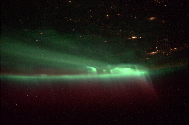 Northern Lights (NASA, International Space Station, 10/09/13)