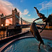 London's Tower Bridge at Sunset by Tom.Bricker