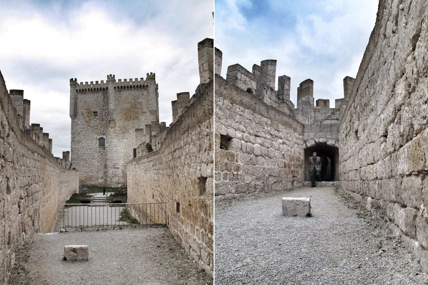 castillo peñafiel_patio norte_septentrional_aljibe