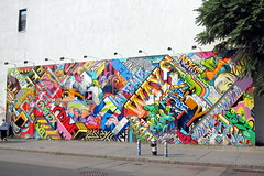 NYC - East Village: Bowery Mural - Revok x Pose