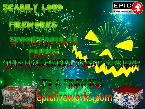 Halloween and Epic Fireworks