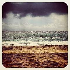 #morningswim @ #myfavoritebeach #hamoa #hana #maui #hawaii
