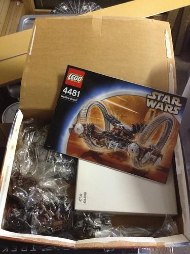 Lego Hailfire Droid 4481