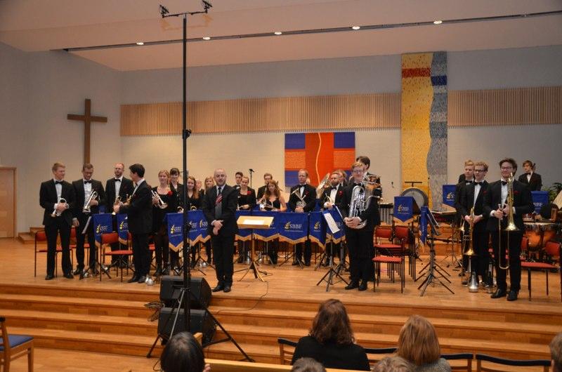 Brassbandfestivalen 2012 - Malmö Brass Band med dirigent Jan Winborg