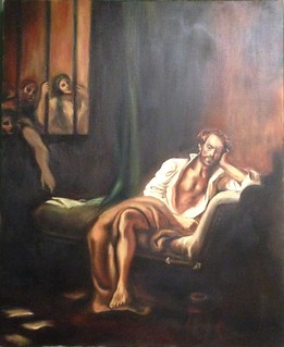 d'apres Delacroix, 2005