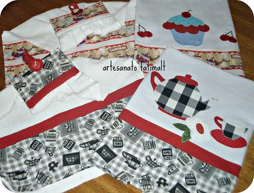 Pano de prato e toalha de mão by fatimalt