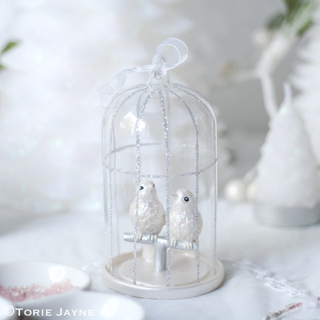 Laura Ashley bird cage decoration